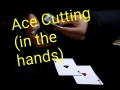Ace Cutting(in the hands) 【Card Tricks/カードマジック自演】